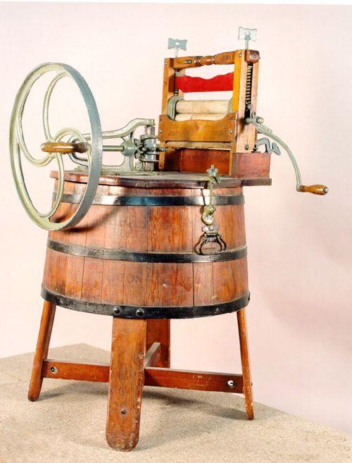 Деревянная стиральная машина