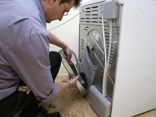 Устанавливаем стиральную машину