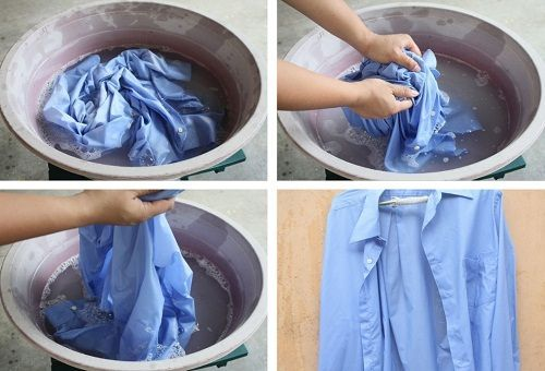 стирать рубашки в стиральной машине_4