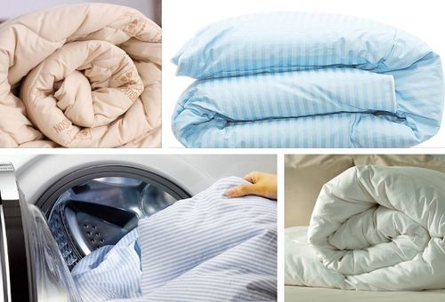 Стираем одеяло