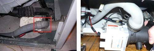 Замена сливного шланга стиральной машины Samsung, LG, Bosch, Electrolux своими руками