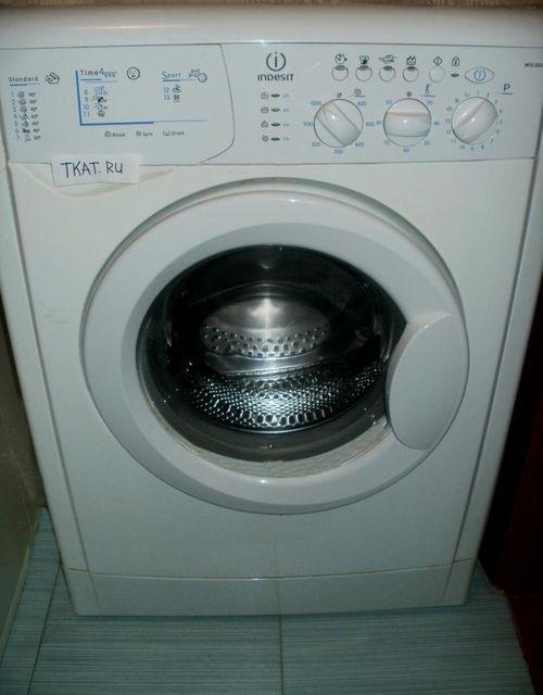 Отзыв о стиральная машина indesit iwb 5105 | недолго она меня.