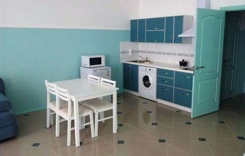 Стиральная машина, встроенная в кухонный гарнитур