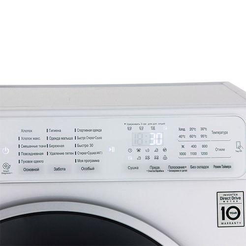 Панель управления стиральной машины LG F12U1HDM1N