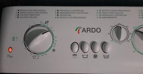 Панель управления стиральной машины Ардо TL1000X