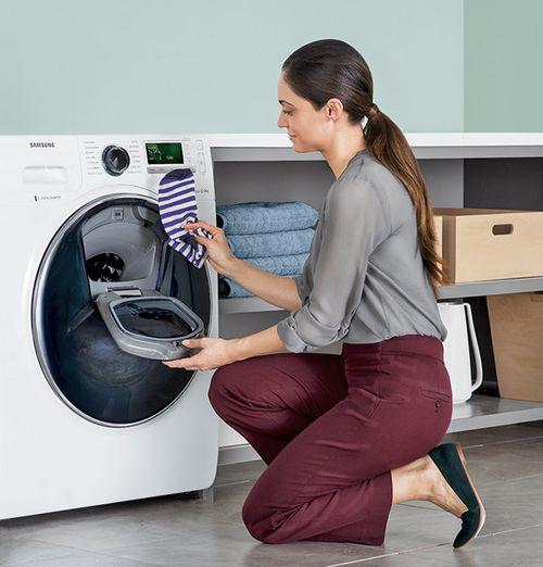 Дозагрузка белья в стиральную машину