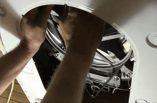 Поломка ремня стиральной машины