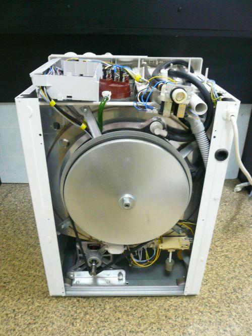 Внутренние детали стиральной машины