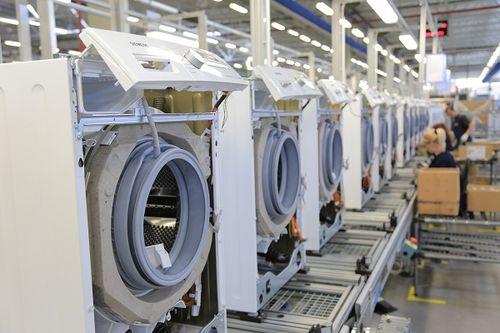 Сбор стиральных машин фабрика