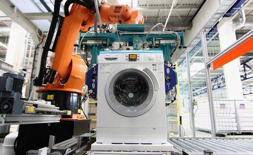 Фабрика - сбор стиральных машин