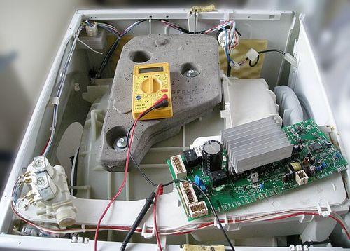 Диагностирование стиральной машинки