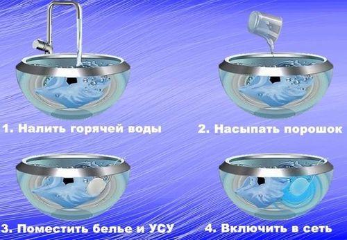 Инструкция к ультразвуковой стиральной машине