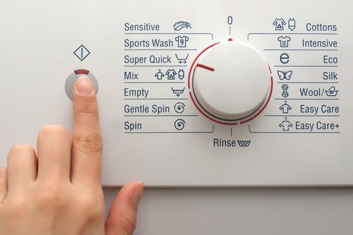 Панель управления стиральной машины LG