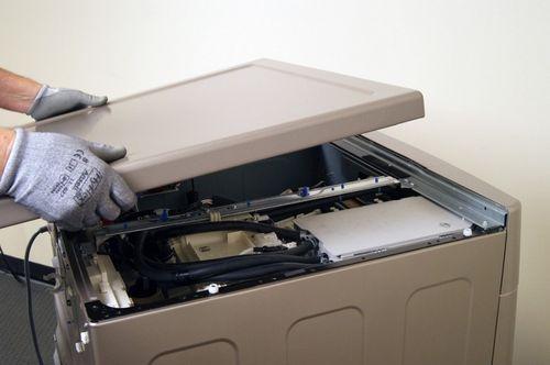 Вскрытие стиральной машины