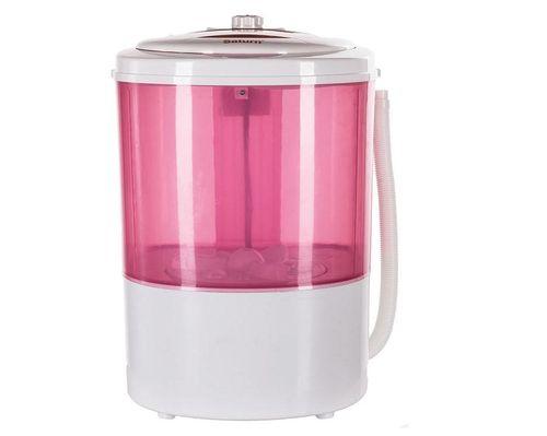 Стиральная машина малютка в розовом цвете