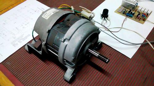 Проверка двигателя от стиральной машины