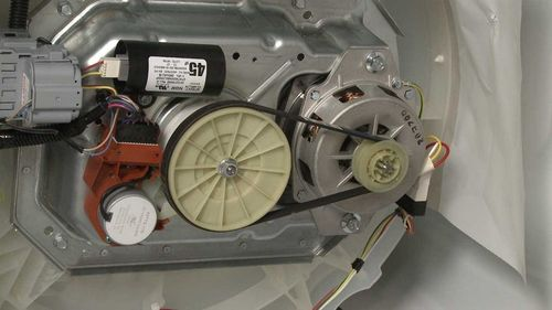 Электрический двигатель стиральной машинки