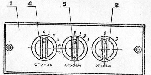 Передняя панель Сибирь 6