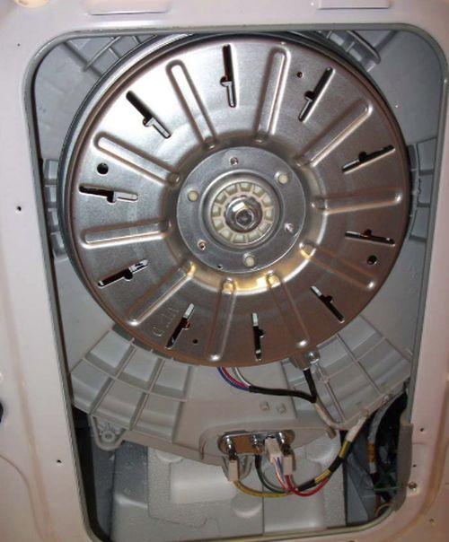 Крепление барабана в стиральной машине
