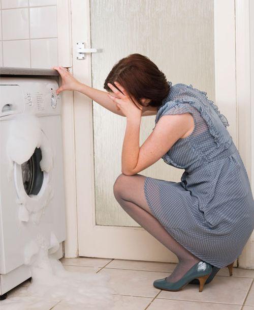 Протекает вода из стиральной машины