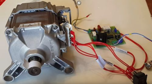 Провода мотора
