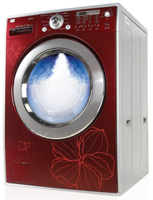 LG красная модель