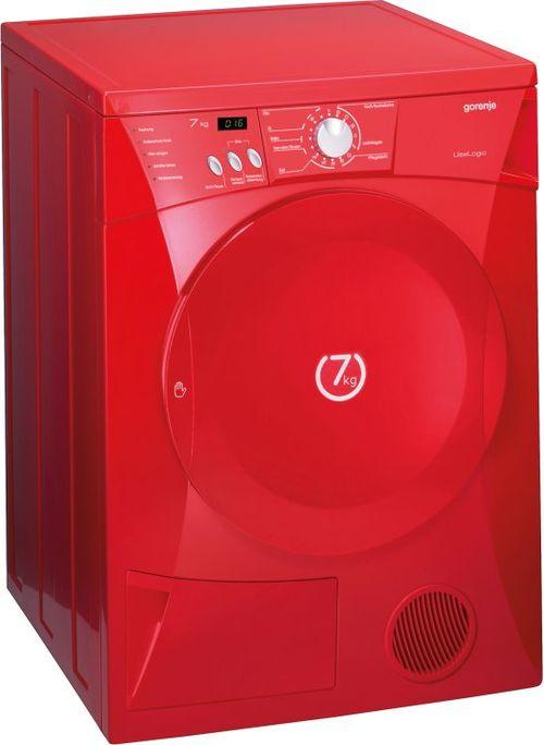 Красная стиральная