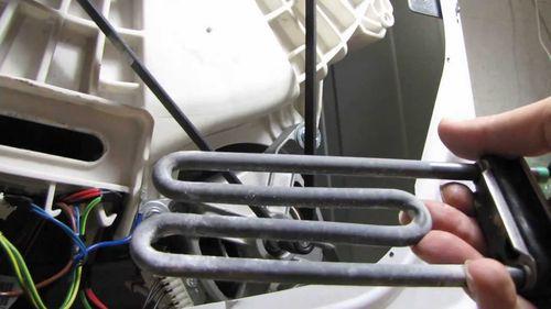 Извлечение тэна из стиральной машины