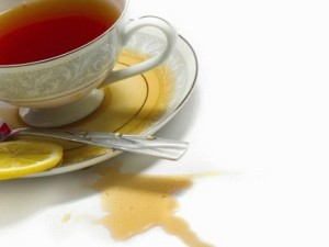 Пятно от чая