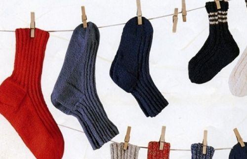 Носки на сушке