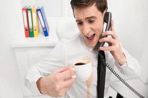 Пятно от кофе