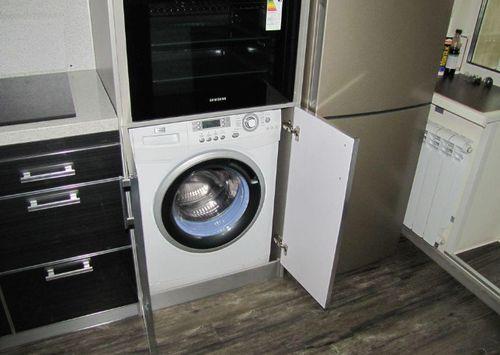 Встроенная стиральная машина